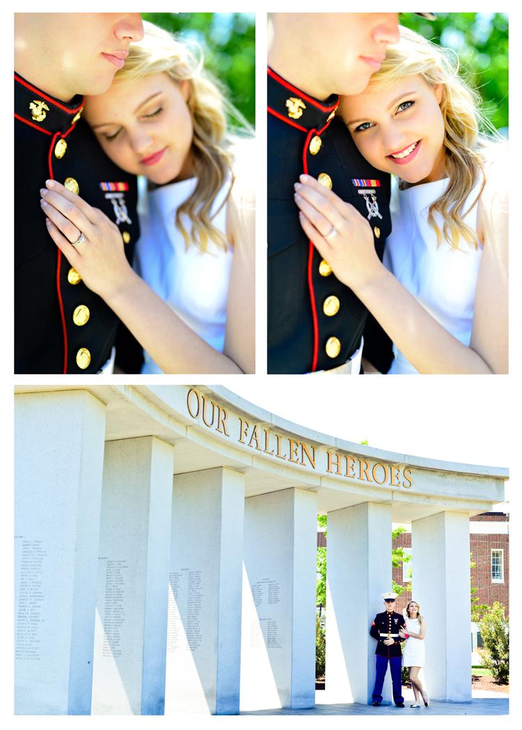 Riley James Fredericksburg Marine Wedding (7)