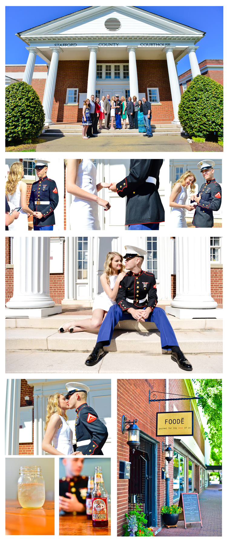 Riley James Fredericksburg Marine Wedding (9)